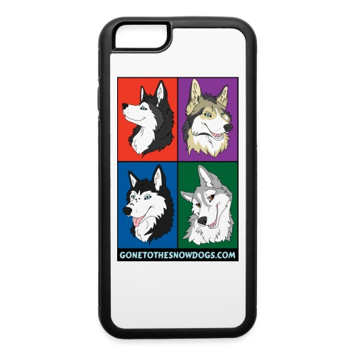 The Husky Girls - iPhone 6/6s Rubber Case