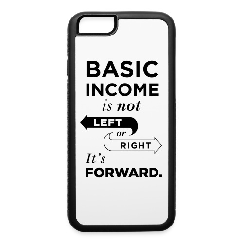 Basic Income Arrows V.2 - iPhone 6/6s Rubber Case