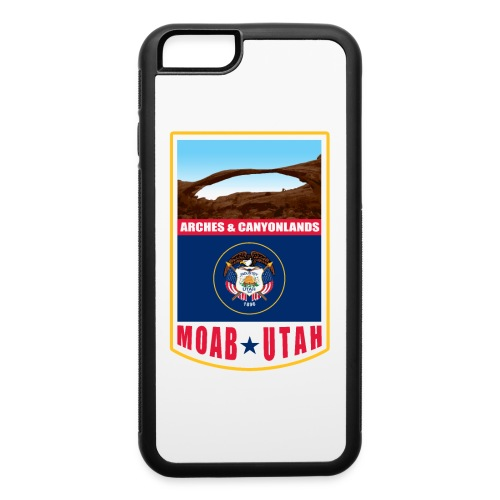 Utah - Moab, Arches & Canyonlands - iPhone 6/6s Rubber Case