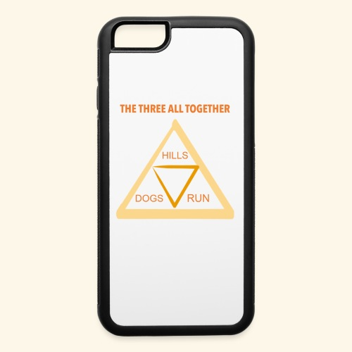 Run4Dogs Triangle - iPhone 6/6s Rubber Case