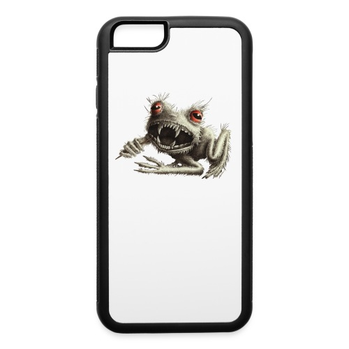 Werefrog - Frog with Toothpick - iPhone 6/6s Rubber Case