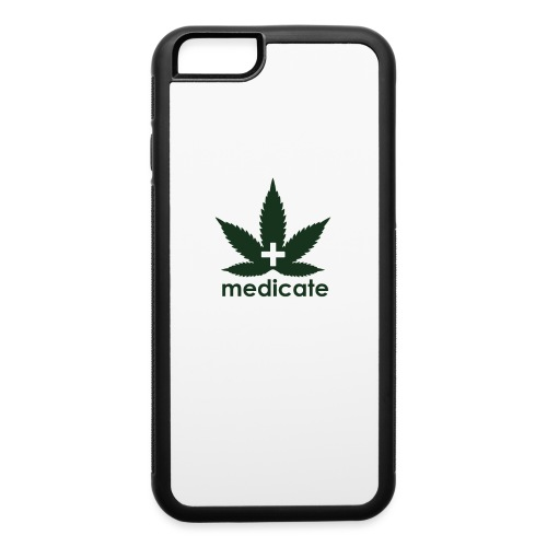 Medicate Supporter - iPhone 6/6s Rubber Case