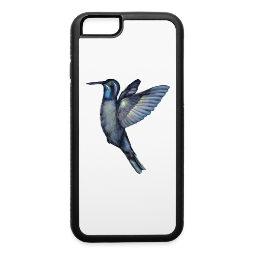 Hummingbird in flight - iPhone 6/6s Rubber Case