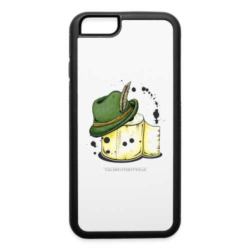 The hunter & the toilet paper - iPhone 6/6s Rubber Case