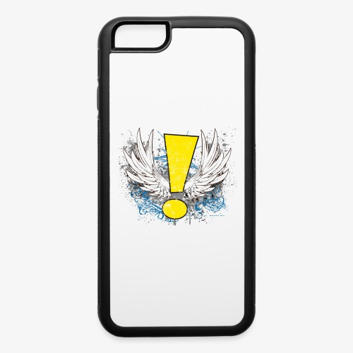 Winged Whee! Exclamation Point - iPhone 6/6s Rubber Case