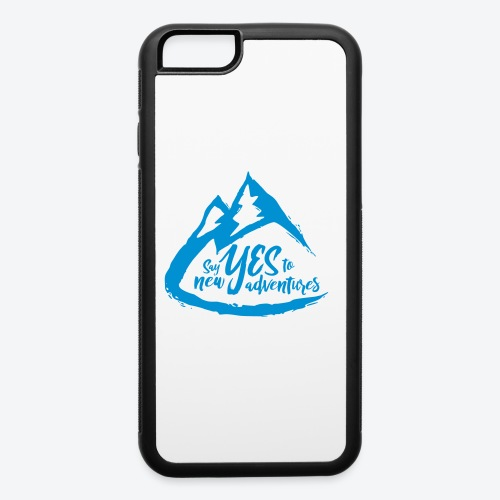 Say Yes to Adventure - Coloured - iPhone 6/6s Rubber Case
