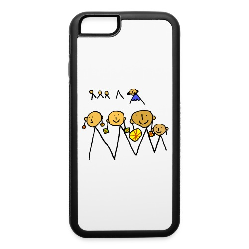 Girls with earrings - iPhone 6/6s Rubber Case