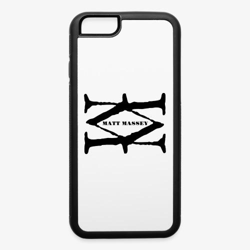 Matt Massey Logo Black - iPhone 6/6s Rubber Case