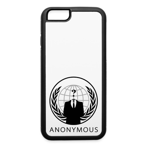 Anonymous 1 - Black - iPhone 6/6s Rubber Case