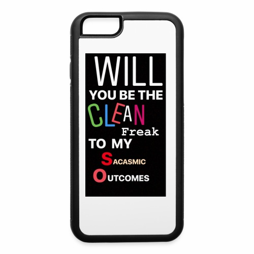 CHANDLER PROPOSES - iPhone 6/6s Rubber Case