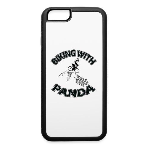 Biking with Panda - iPhone 6/6s Rubber Case