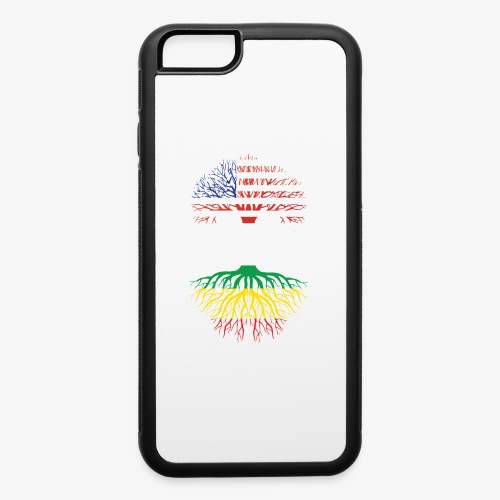 American Grown With African Roots T-Shirt - iPhone 6/6s Rubber Case