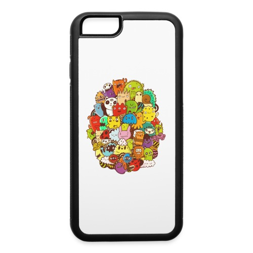 Doodle for a poodle - iPhone 6/6s Rubber Case