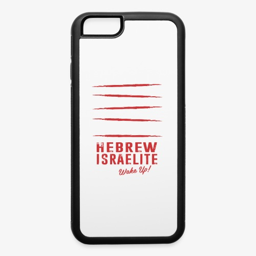 Hebrew Israelite - iPhone 6/6s Rubber Case