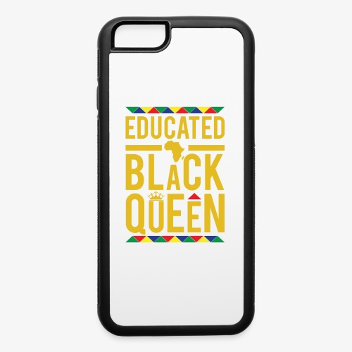 Educated Black Queen - iPhone 6/6s Rubber Case