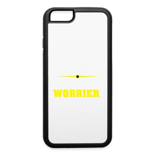 Be a warrior not a worrier - iPhone 6/6s Rubber Case