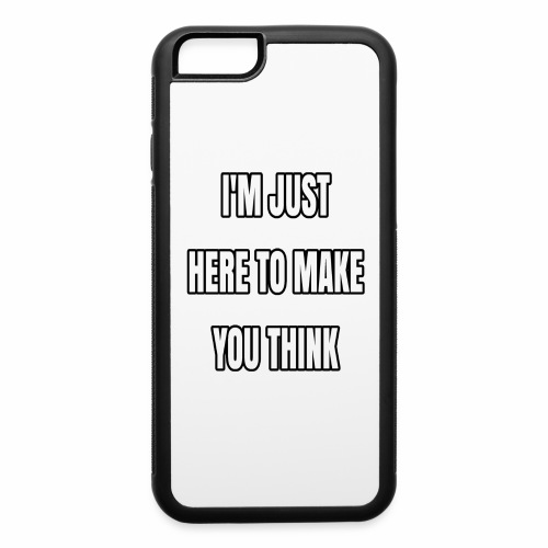 IJHTMYT (White Font) - iPhone 6/6s Rubber Case
