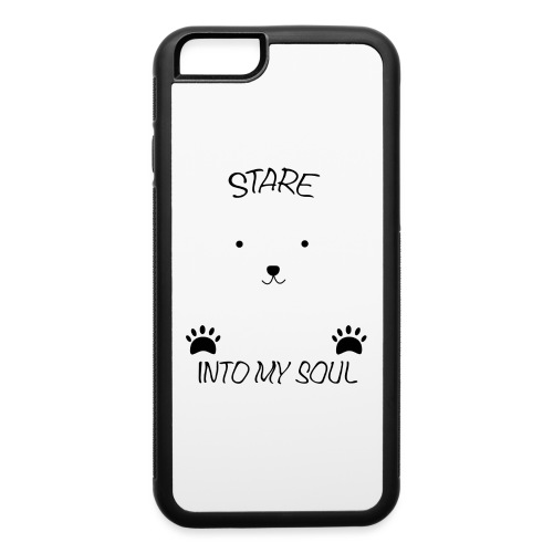 Polar Bear Stare - iPhone 6/6s Rubber Case