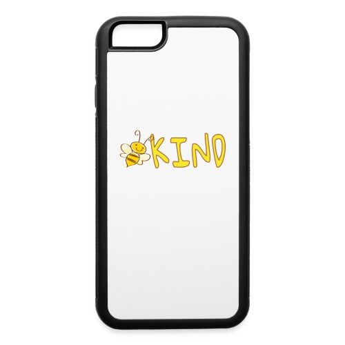 Be Kind - Adorable bumble bee kind design - iPhone 6/6s Rubber Case