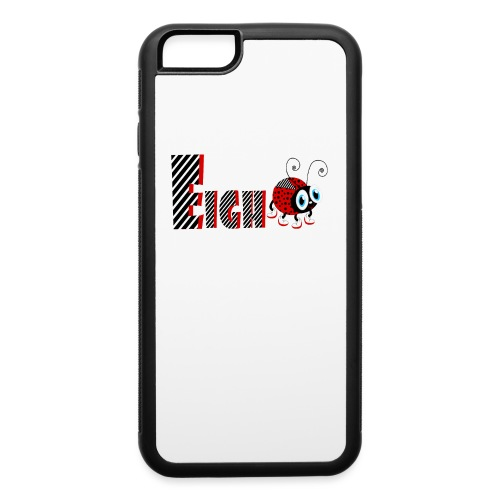 8nd Year Family Ladybug T-Shirts Gifts Daughter - iPhone 6/6s Rubber Case