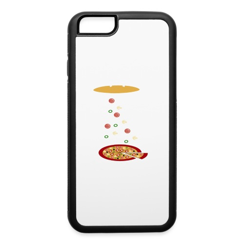 Pizza Funny Ovni - iPhone 6/6s Rubber Case