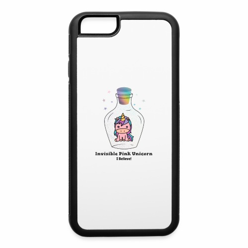 Invisible Pink Unicorn - iPhone 6/6s Rubber Case