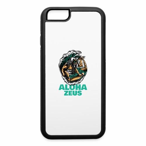 Aloha Zeus: Surfing God - iPhone 6/6s Rubber Case