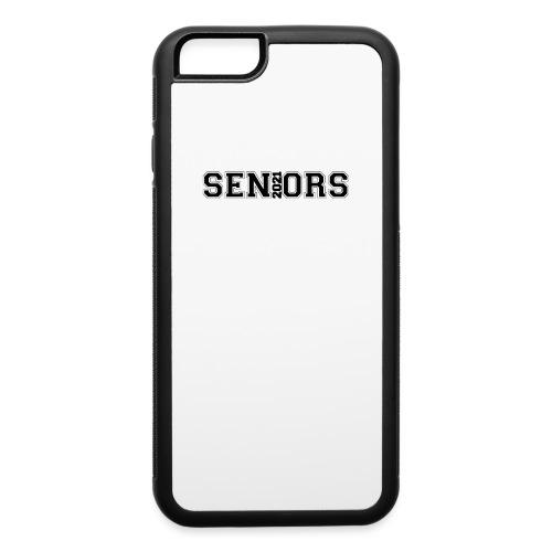 Seniors 2021design logo - iPhone 6/6s Rubber Case
