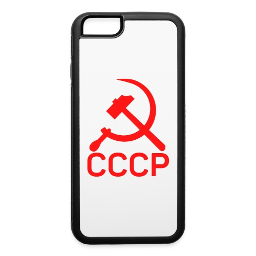 CCCP Sickle and Hammer - iPhone 6/6s Rubber Case