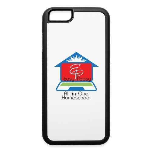 EP Logo with All-In-One Homeschool - iPhone 6/6s Rubber Case