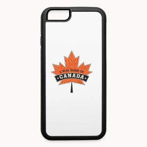 I WAS MADE IN CANADA -Linen -Carolyn Sandstrom - iPhone 6/6s Rubber Case