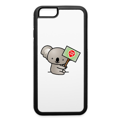 Koala Holding Stop Adani Sign - Accessories - iPhone 6/6s Rubber Case