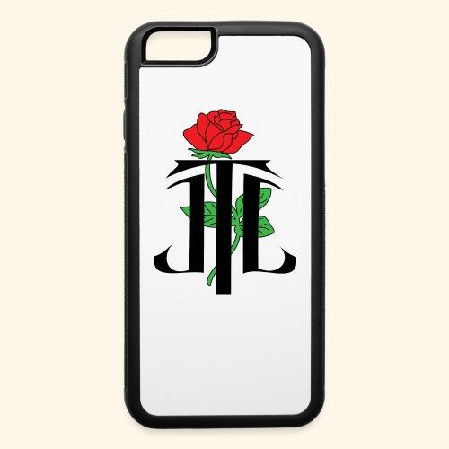 JLT_Logo_Black_Outline - iPhone 6/6s Rubber Case