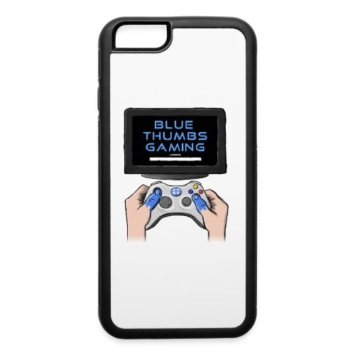 Blue Thumbs Gaming: Gamepad Logo - iPhone 6/6s Rubber Case