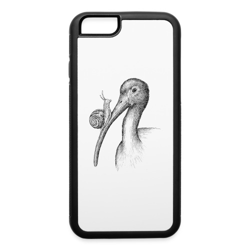 Ibis with Snail by Imoya Design - iPhone 6/6s Rubber Case