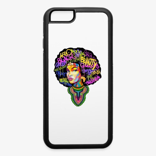 Afro Queen Dashiki - iPhone 6/6s Rubber Case