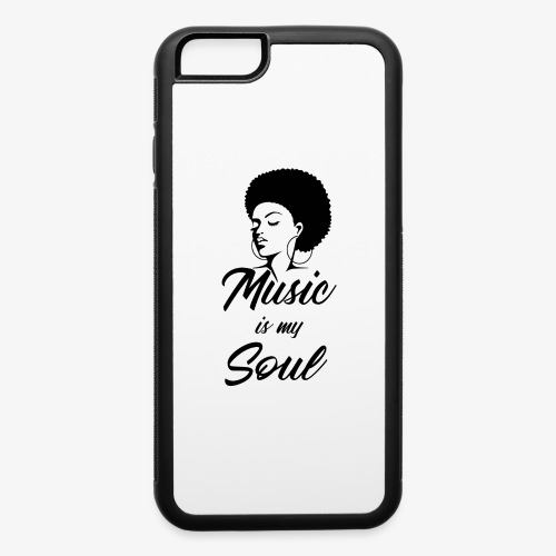 Music Is My Soul - iPhone 6/6s Rubber Case