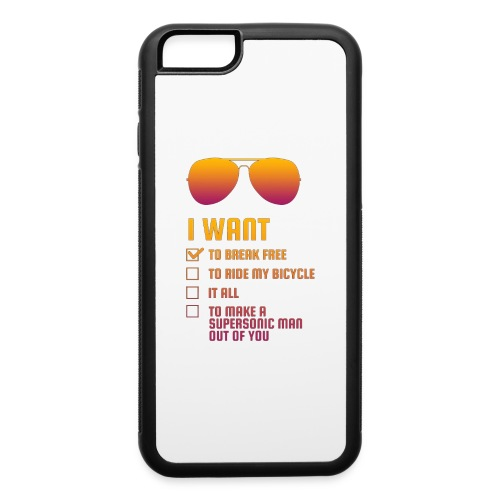 I Want To Break Free retro - iPhone 6/6s Rubber Case