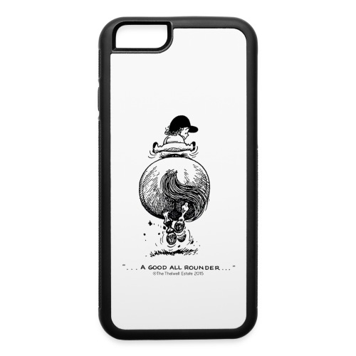 PonyGalopp Thelwell Cartoon - iPhone 6/6s Rubber Case