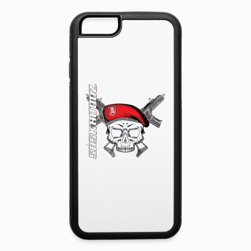 saskhoodz skull - iPhone 6/6s Rubber Case