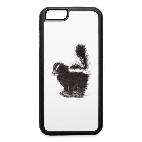 Cool cute funny Skunk - iPhone 6/6s Rubber Case