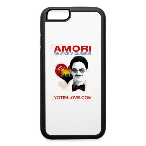 Amori for Mayor of Los Angeles eco friendly shirt - iPhone 6/6s Rubber Case