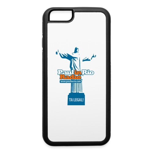 Paul in Rio Radio - The Thumbs up Corcovado #2 - iPhone 6/6s Rubber Case