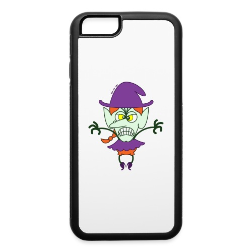 Scary Halloween Witch - iPhone 6/6s Rubber Case