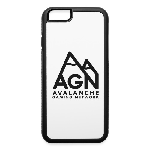 AGN Black Logo Hoodie - iPhone 6/6s Rubber Case