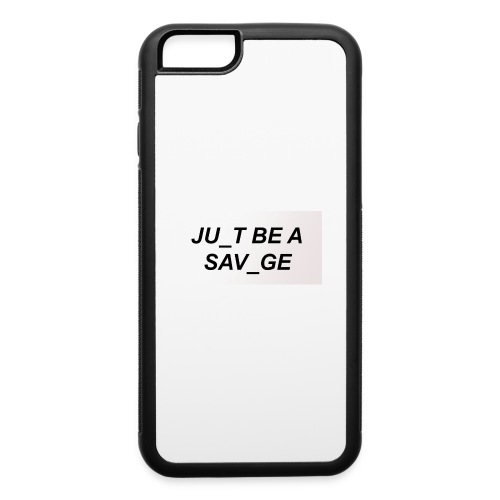 JU_T B A SVG - iPhone 6/6s Rubber Case