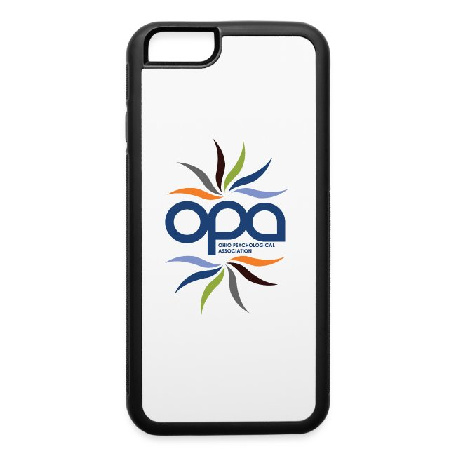 iPhone case with full color OPA logo