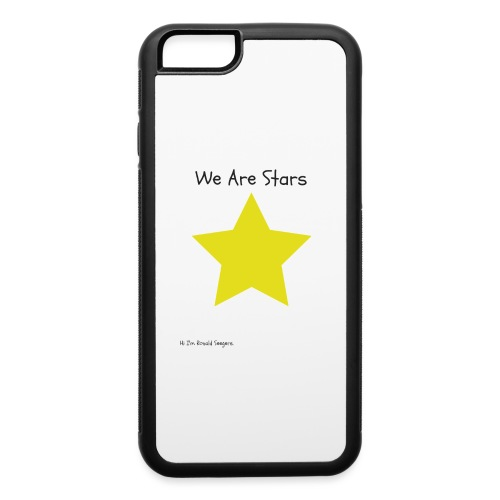 Hi I'm Ronald Seegers Collection-We Are Stars - iPhone 6/6s Rubber Case
