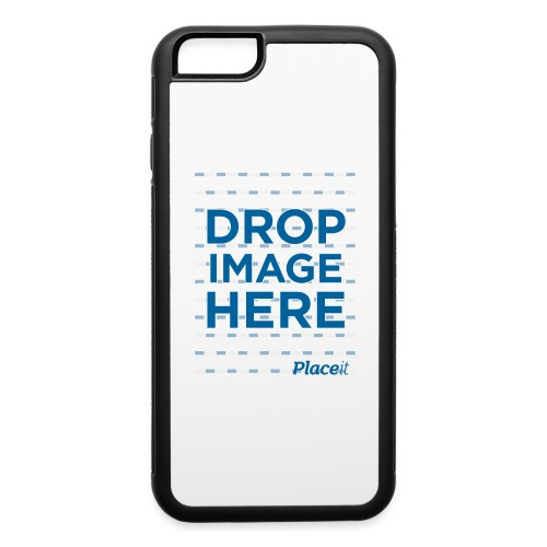 DROP IMAGE HERE - Placeit Design - iPhone 6/6s Rubber Case