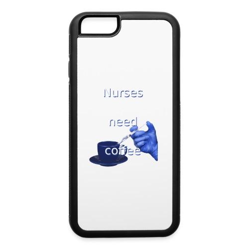 Nurses need coffee - iPhone 6/6s Rubber Case